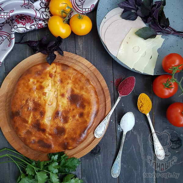 Пирог с сыром на дрожжевом тесте